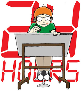 24 Hour Comics Challenge minicomics Russ Kazmierczak Arizona Phoenix Glendale