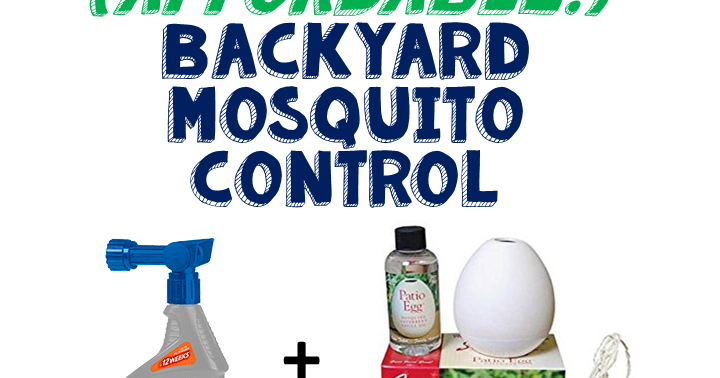 Live and Learn: DIY (Affordable!) Backyard Mosquito Control