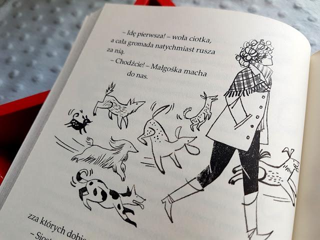 Agnieszka Tyszka - Zosia z ulicy Kociej Na psa urok- książeczki dla dzieci - Nasza Księgarnia
