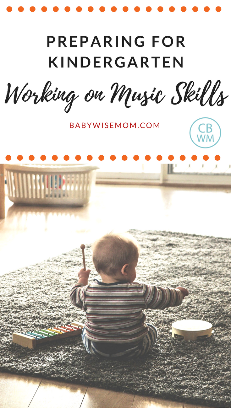 Preparing for Kindergarten: working on music skills