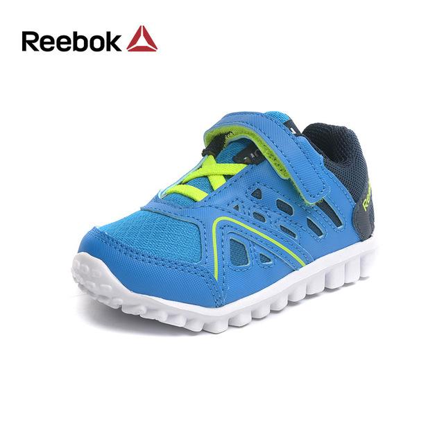 2227cb8e7a REEBOK New Running Shoe Kids Boys Lightweight Damping Breathable Boys  Casual Sport Sneakers Non Slip Children Baby Shoe