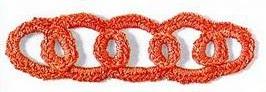 Patrón #1504: Encaje a Crochet