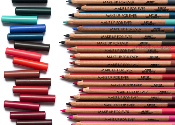 Make Up For Ever Artist Color Pencils Multi-Use Matte MUFE Review