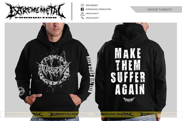 HOODIE TURBIDITY - Make them suffer again