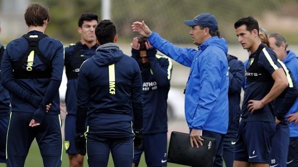 El Málaga entrena hoy a las 17:00