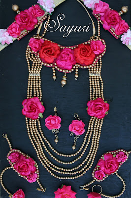 Rani pink Bridal Jewelry