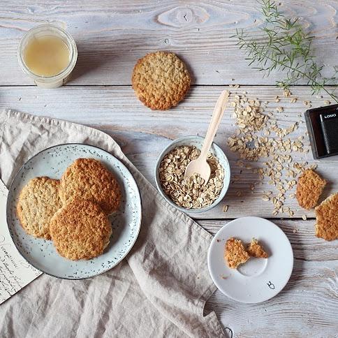 Chrrupiące ciasteczka owsiane
