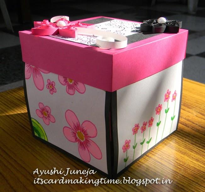 It\u0027s card making time!! Birthday Explosion Box )