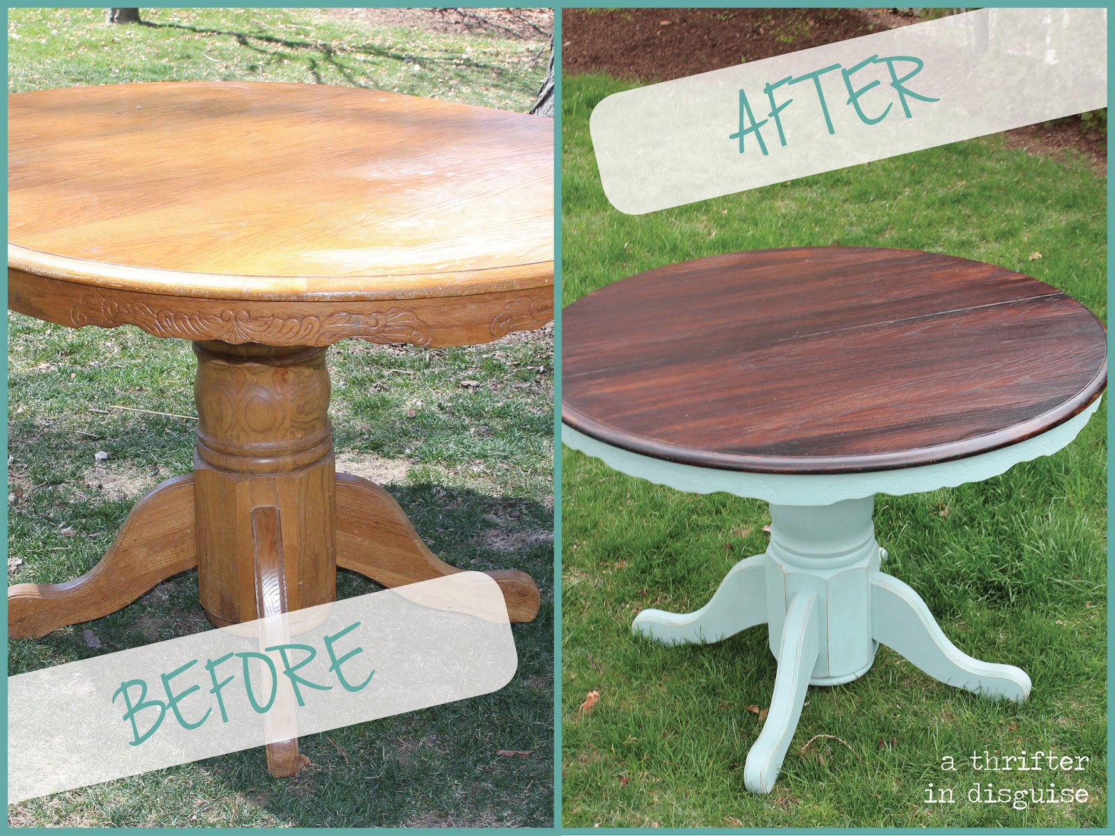 craiglist dining table transformation painting kitchen table
