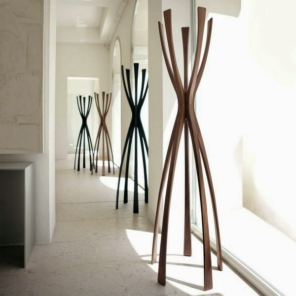 10 creative wooden coat stand designs for 2015. Black Bedroom Furniture Sets. Home Design Ideas