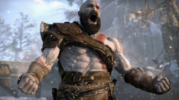 صورة من لعبة God of War