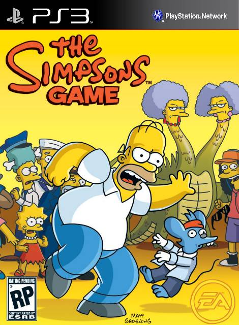 The Simpsons Game Download Game Ps3 Ps4 Ps2 Rpcs3 Pc Free