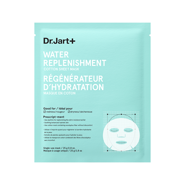 Mother's Day Gift Guide Dr. Jart+ Water Replenishment Cotton Sheet Mask