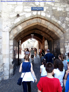 Arco de acceso a la Torre de Londres.