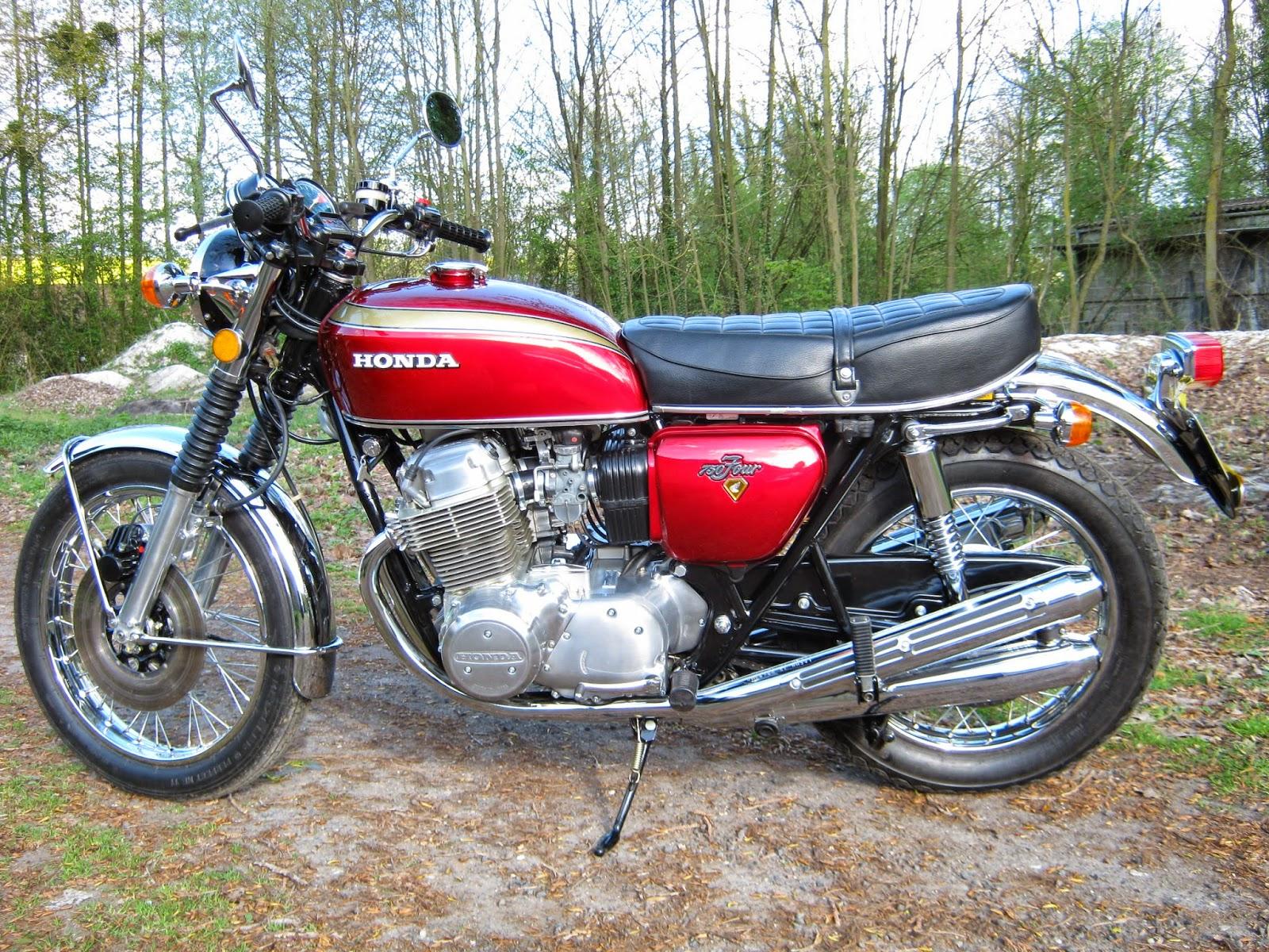 croco deco moto honda 750 four k2 1972 candy rouge. Black Bedroom Furniture Sets. Home Design Ideas