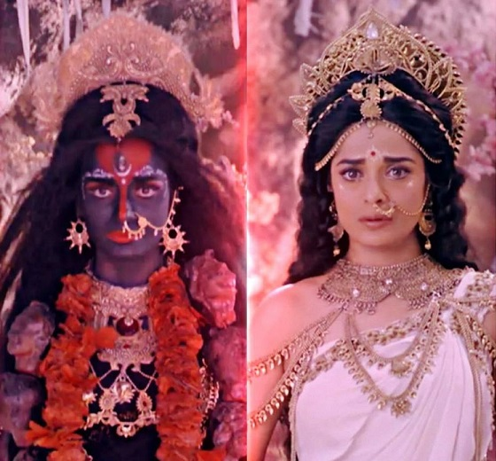 Pooja Sharma -Actress as Sree Bhdrakali /Mahakali/Parvathi