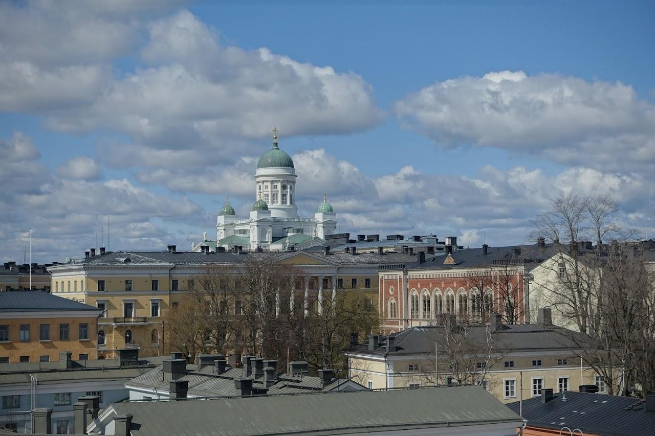 ヘルシンキ大聖堂方面