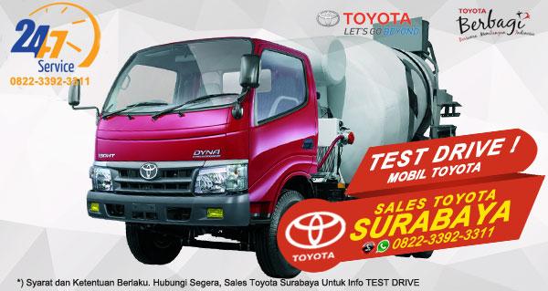 Info Test Drive Toyota Dyna Surabaya