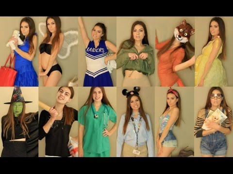 Quick very last minute diy homemade holloween costume ideas 2017