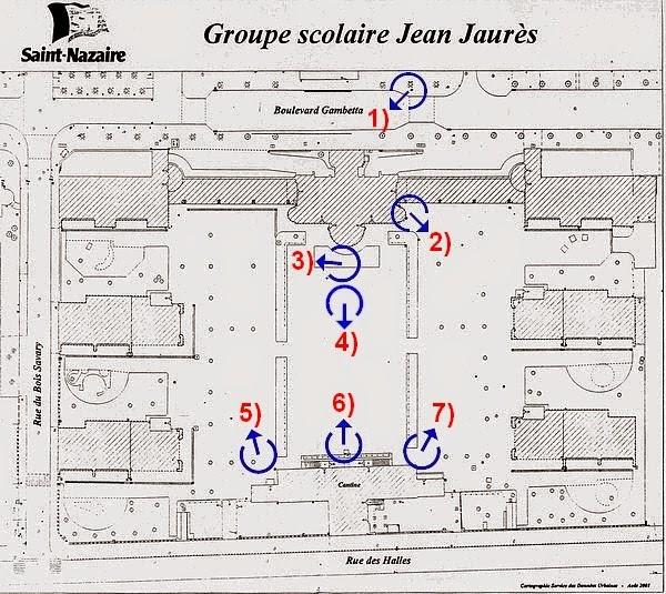 École élémentaire Jean Jaurès Saint-Nazaire: Visite Ecole