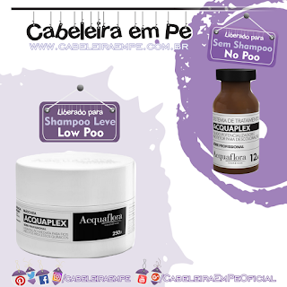 Fluido (No Poo) e Máscara AcquaPLex (Low Poo) - Acquaflora