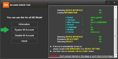 How To Use Mi Account Unlock Tool To Bypass Xiaomi Mi Account Lock