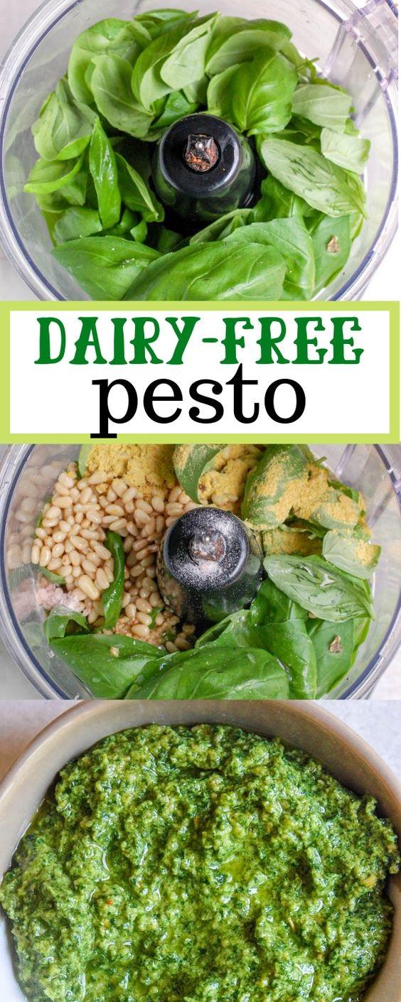Dairy Free Pesto