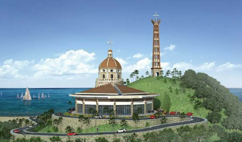 Proposed Shrine of Jesus the Black Nazarene of Capalonga camarines norte
