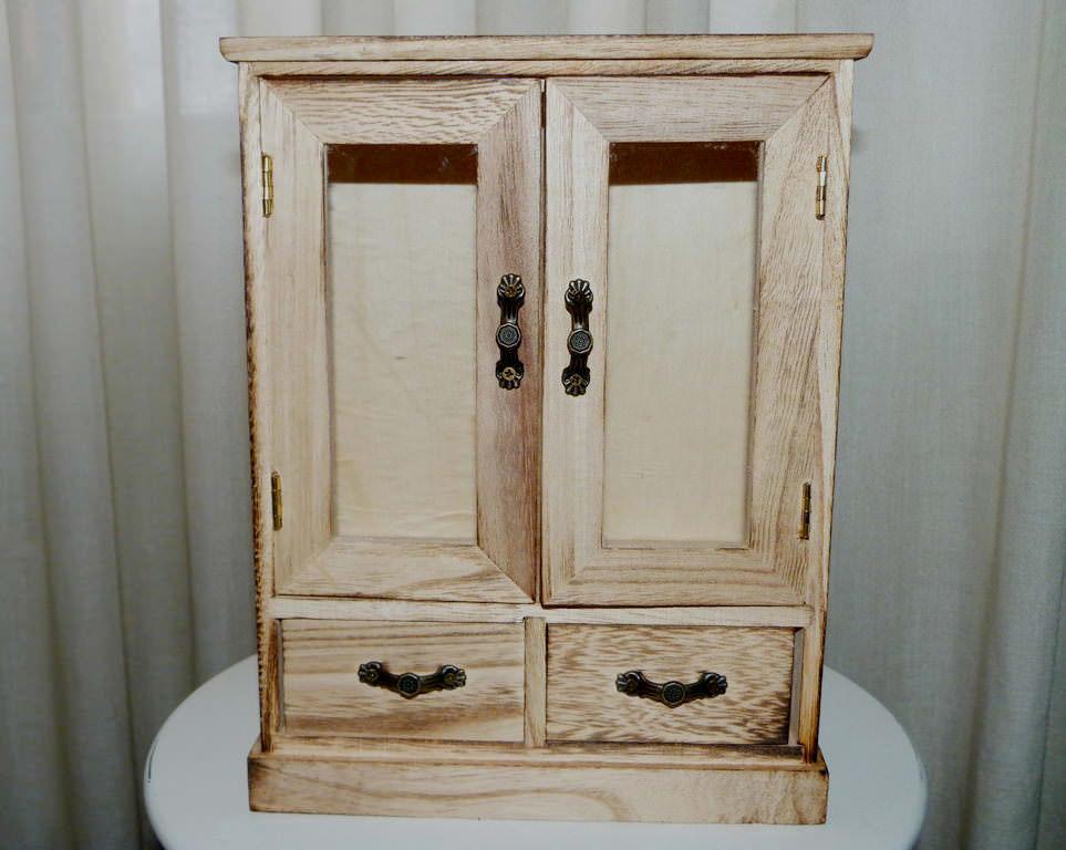 Armario de madera joyero paso a paso  Isabel Vintage
