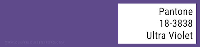 Colori Pantone 2018 Primavera - PANTONE 18-3838 Ultra Violet