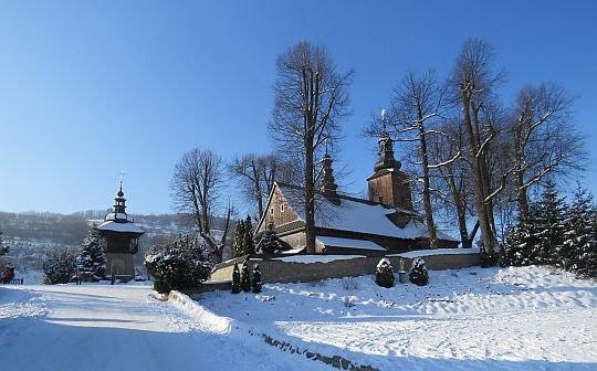Kościół pw. Znalezienia Krzyża Świętego w Ochotnicy Dolnej.