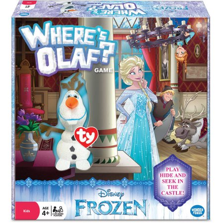 Disney Frozen Where's Olaf? Game