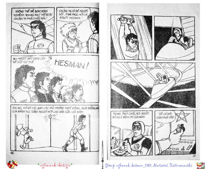 Dũng Sĩ Hesman tập 2 - hesman xuất hiện trang 25