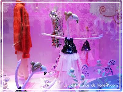 Vitrines de Noël des Galeries Lafayette