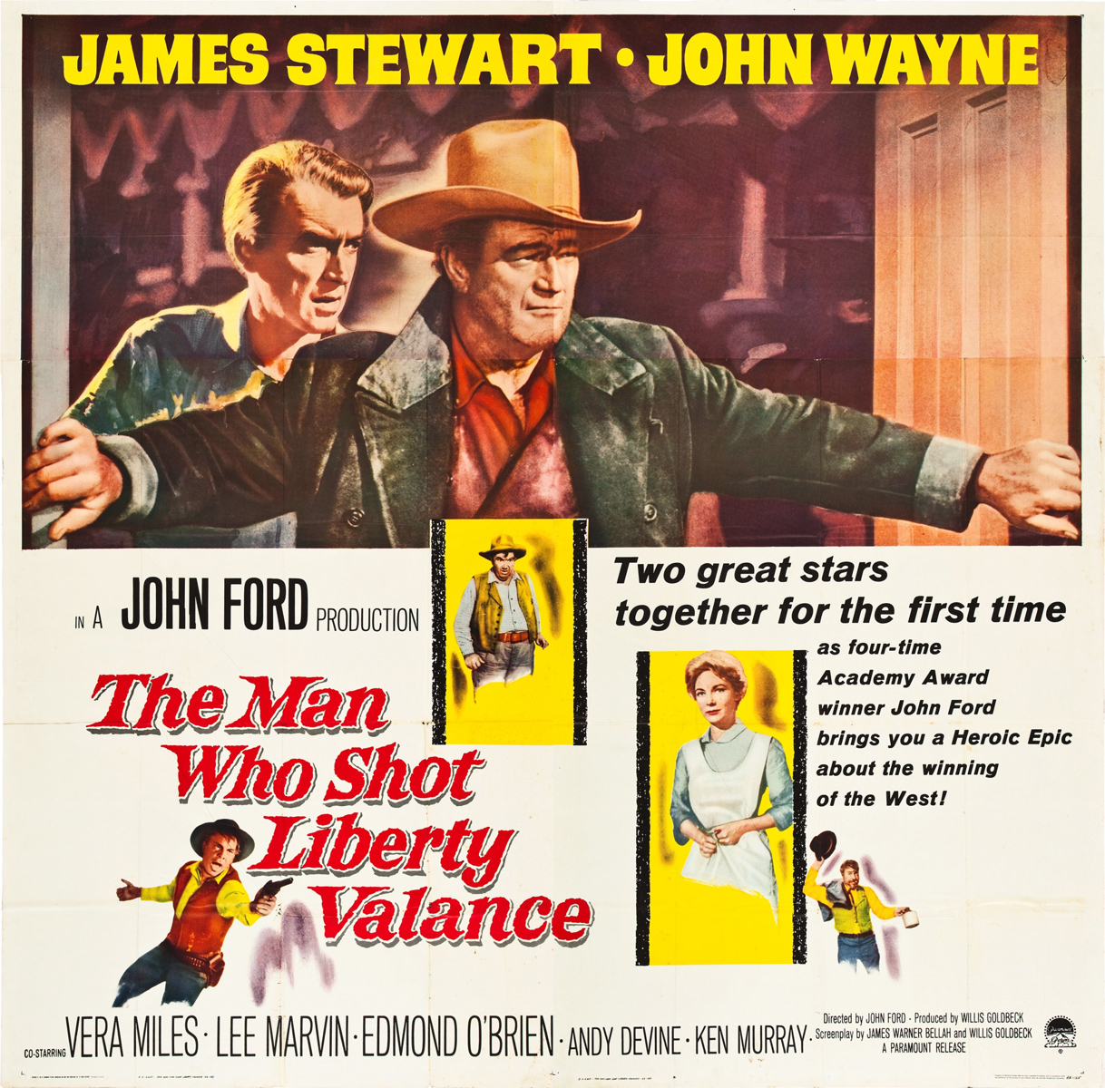 Lee Marvin: I Will Be Point Blank About Liberty Valance