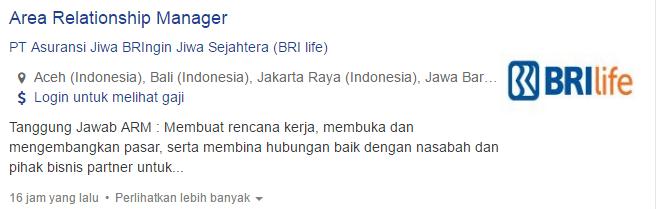 Lowongan Kerja Terbaru Kota Bandar Lampung 2019