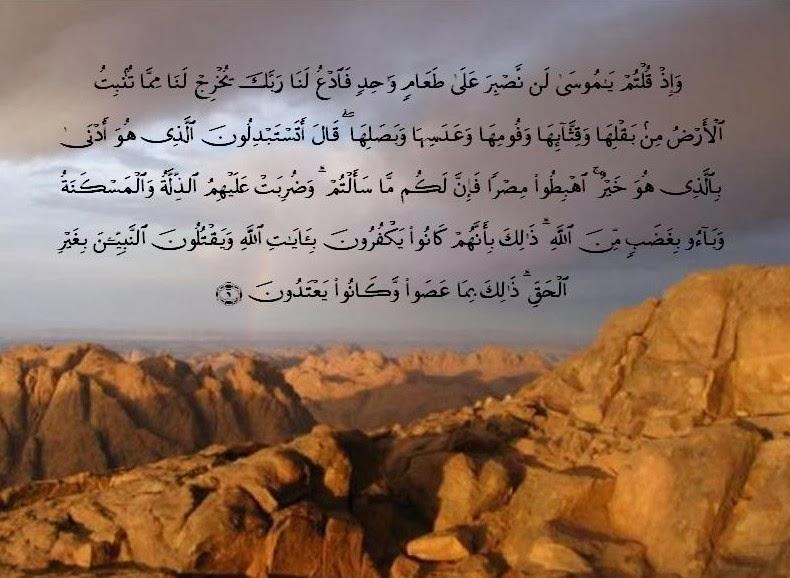 Over كم مرة ذكر اسم مصر فى القرآن الكريم