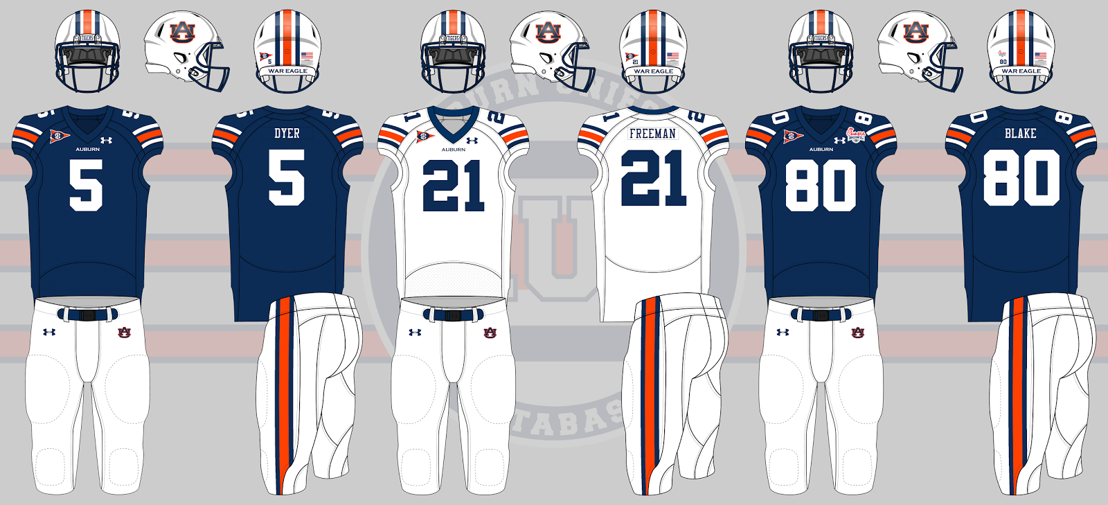 2011 auburn football uniforms chick fil a bowl 866999115