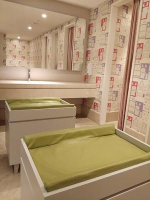 ruang ganti popok di nursery room pakuwon mall surabaya