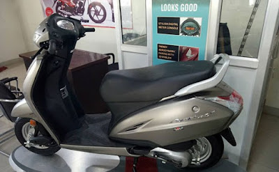 Honda Activa 4G with BSIV compliance, AHO systum