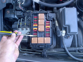 The Windshield Wiper Fuse Is Burnt Out
