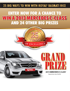 Enter now for a chance to win a 2013 Mercedes C-Class