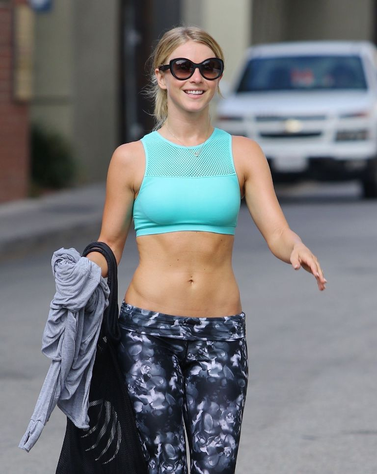 Julianne Hough – Leaving a Gym in Los Angeles