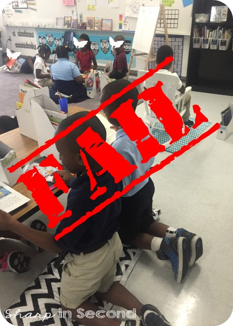 Sharp In Second I Failed At Flexible Seating
