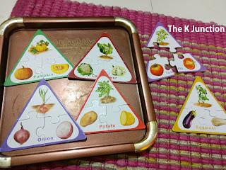 Vegetable Puzzle