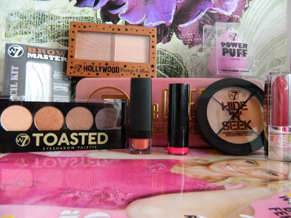W7 Cheeky Trio, Toasted, Brow Master & Hollywood Bronze & Glow