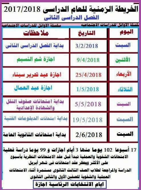 موعد اجازة الانتخابات 2018