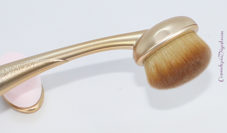 Etude House My Beauty Tool Face Makeup Secret Brush Skin 121 Review, Use