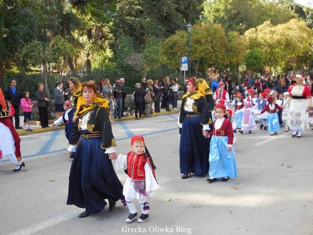 parada, greckie stroje narodowe, chios grecja