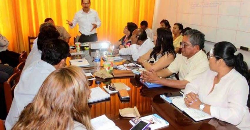 DRE Piura solicitará intervención de Contraloría en las UGEL que aún no han sido investigadas